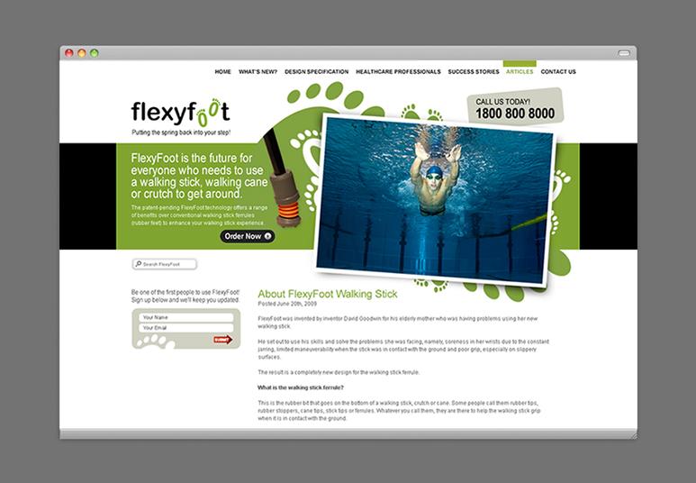 flexyfoot web