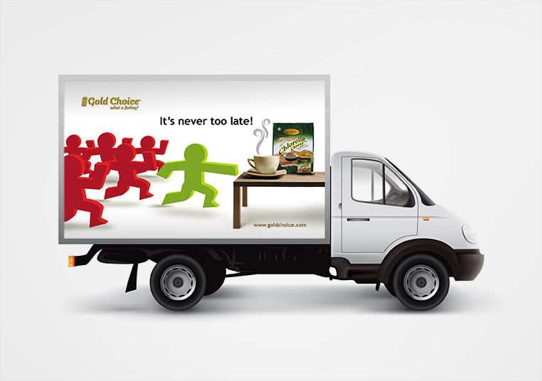 gold choice lorry